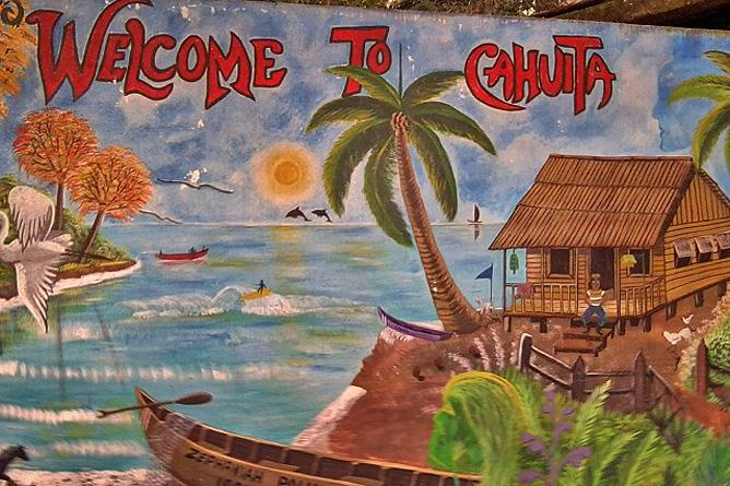 Willkommen in Cahuita