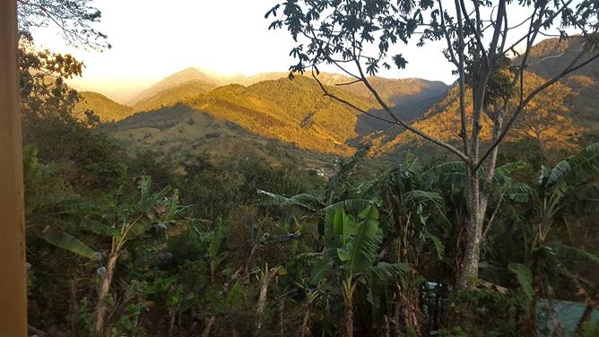El Pelicano – Blick auf den Nationalpark Chirripo