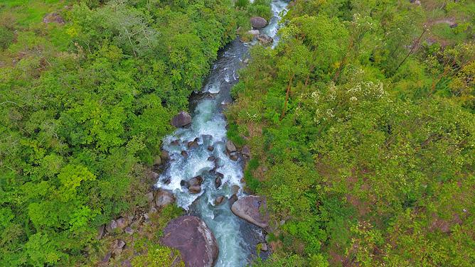 El Pelicano Fluss Chirripó