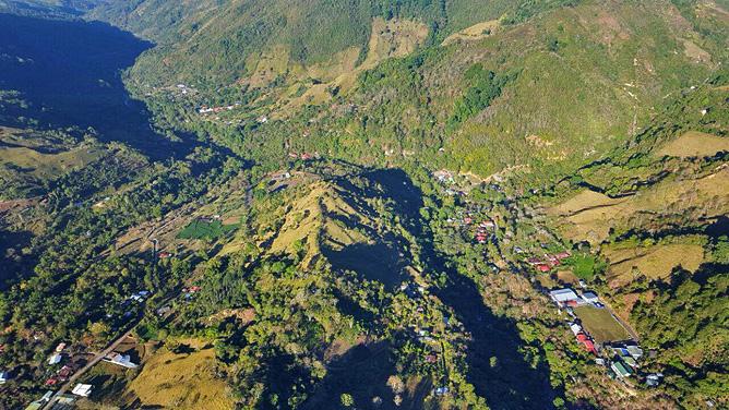 El Pelicano San Gerado de Rivas Panorama
