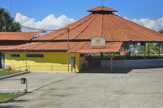 Golfito Treffpunkt Boottransfer Samoa del Sur