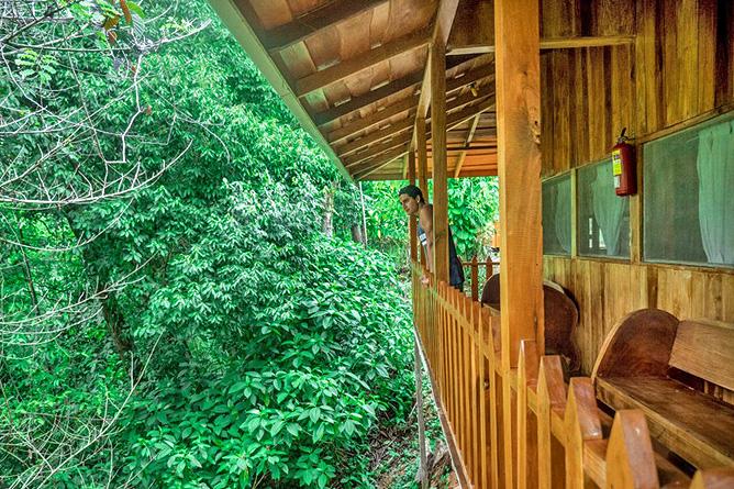 Los Campesinos Eco Lodge – Cabina für 6 Personen, Balkon