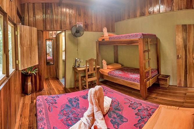 Los Campesinos Eco Lodge – Cabina mit Stockbett