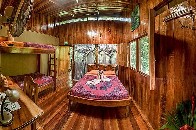 Los Campesinos Eco Lodge – Cabinas, 4 Personen