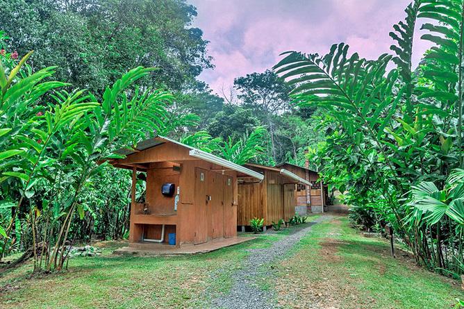Los Campesinos Eco Lodge – Cabinas, Aussenansicht