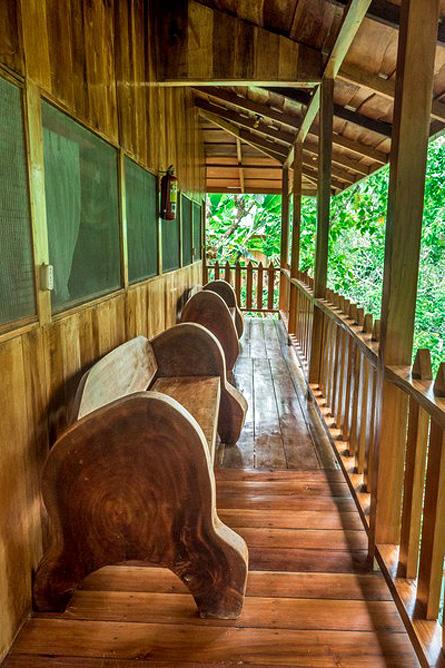 Los Campesinos Eco Lodge – Terrasse