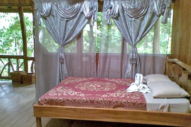 Los Campesinos Eco Lodge – Bungalow, Doppelbett