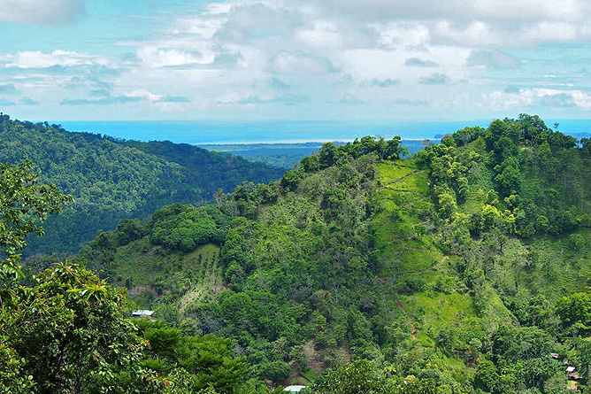 Los Campesinos Eco Lodge – Aussicht auf Pazifischen Ozean