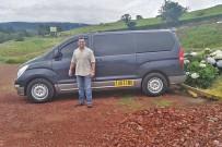 Fahrer Mariano Arayo, Shuttle-Service