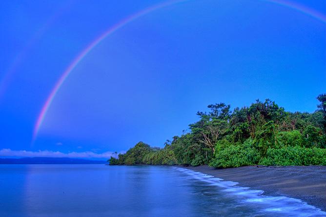 Nicuesa Playa Nicuesa Regenbogen