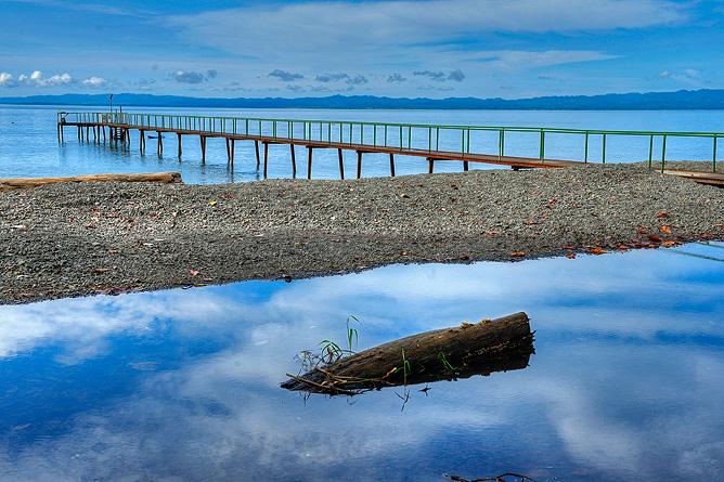 Nicuesa Playa Nicuesa Steg