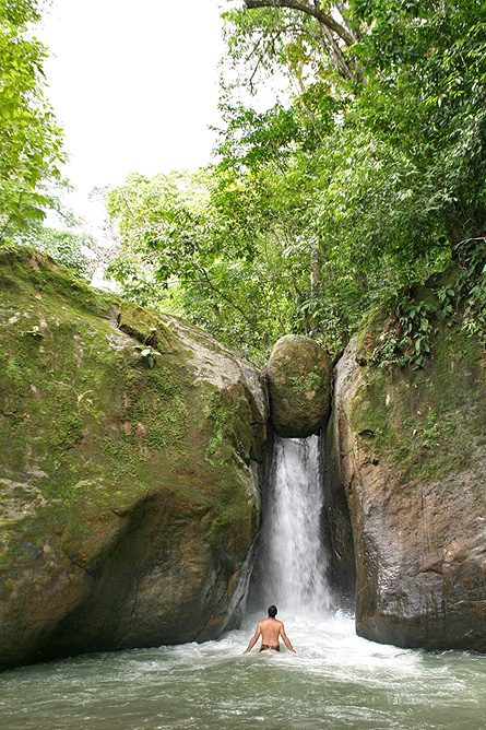 Rio Tico Lodge Wasserfall
