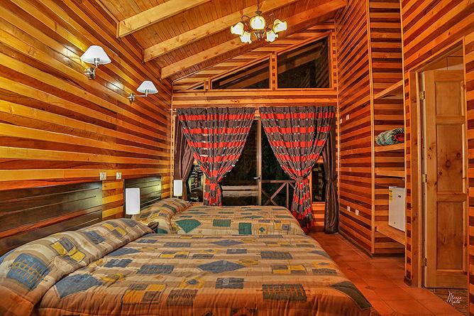 Sueños del Bosque – Cabinas, Doppelbetten