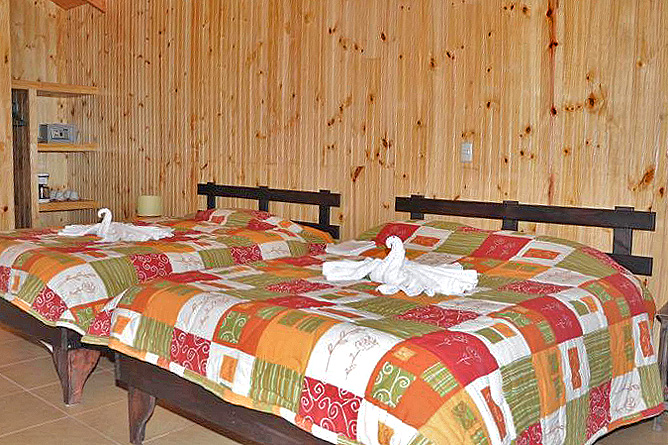 Sueños del Bosque – Cabinas mit Kamin, Doppel- und Einzelbett