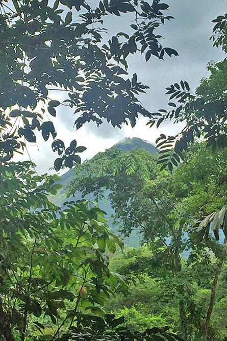 Arenal Oasis Blick auf Vulkan Arenal