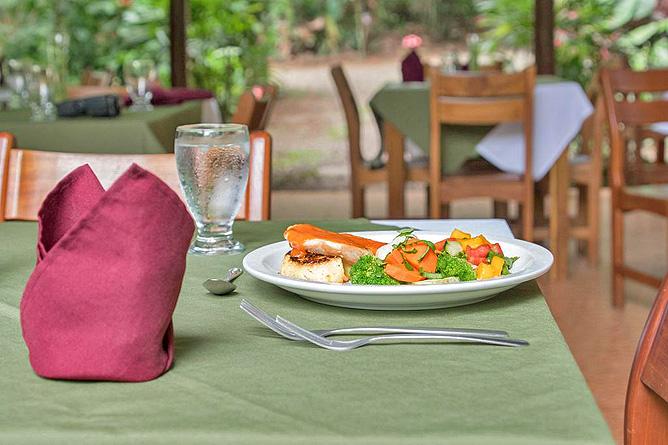 Arenal Oasis Restaurant Abendessen