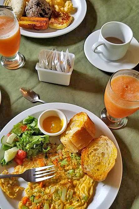 Arenal Oasis Restaurant Frühstück