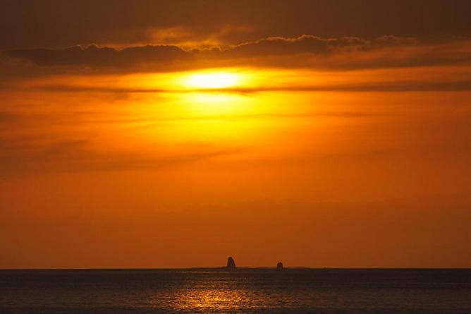 Bahia del Sol Sonnenuntergang