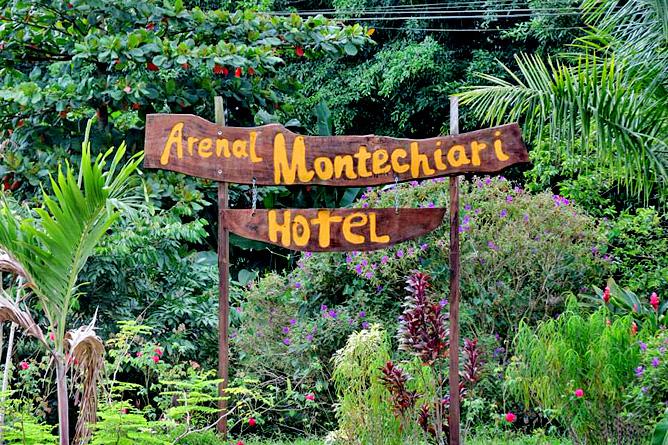 Arenal Montechiari Einfahrt