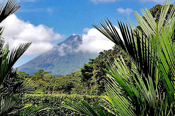 Country Inn Arenal Sicht auf den Vulkan Arenal
