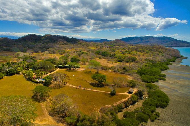 Ensenada Trockenwaldgebiet
