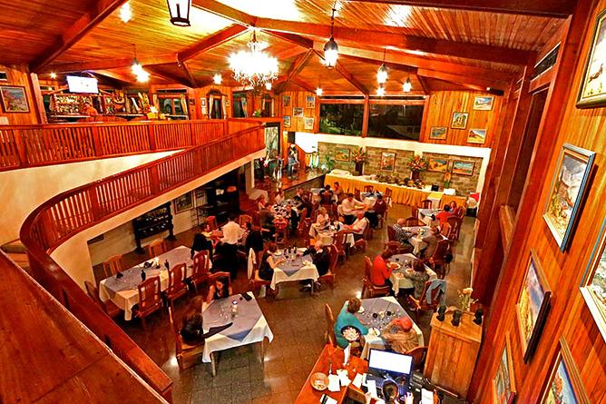 Fonda Vela Restaurant Interior
