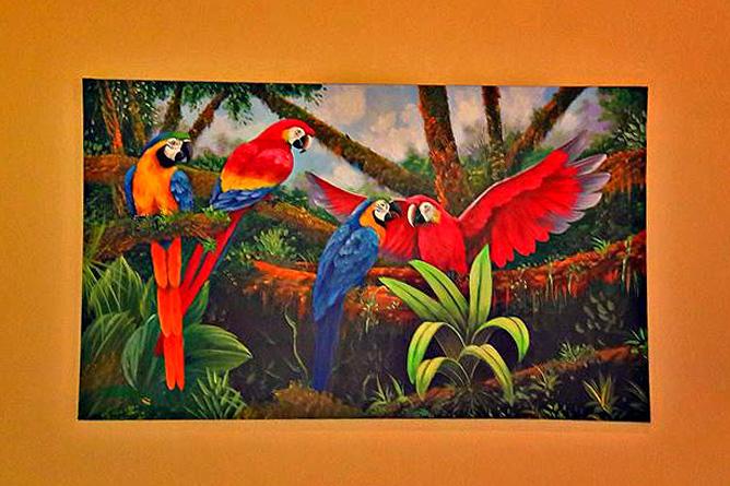 La Ceiba Dekoration