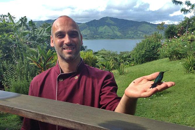 La Ceiba Dirk mit Kolibris