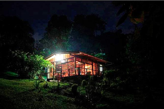 La Ceiba Restaurant Abendstimmung