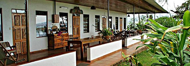 La Ceiba Standard-Zimmer Terrasse