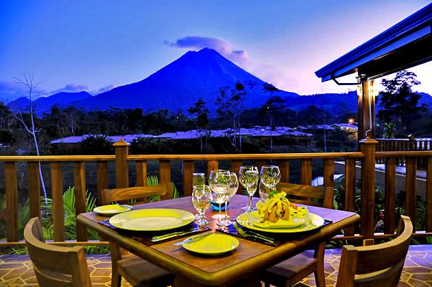 Manoa Arenal Restaurant Abendessen