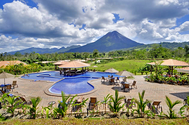 Manoa Arenal Swimming Pool-Bereich