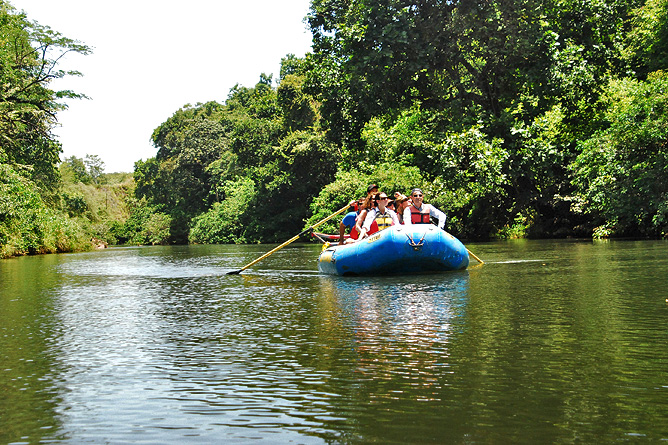Rafting Tour – Floating, Guanacaste