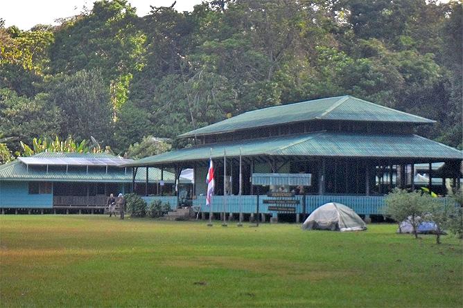 Corcovado Nationalpark – Eingang Sirena
