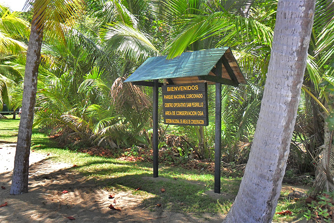 Corcovado Nationalpark – Eingang San Pedrillo
