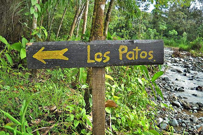 Corcovado Nationalpark – Eingang Los Patos