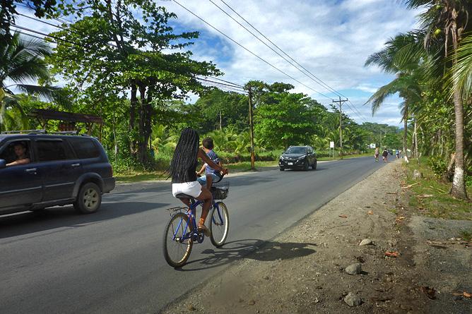 Fahrradfahren Südkaribik Fahrradfahren entlang der Küste