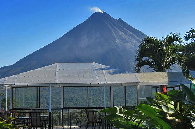 Linda Vista Arenal – Aussicht auf Vulkan