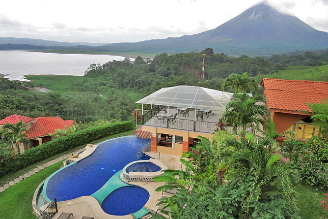 Linda Vista Arenal – Hotel mit Pool und Vulkansicht