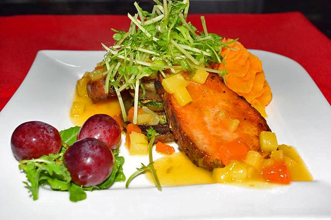 Linda Vista Arenal – Restaurant, Abendessen