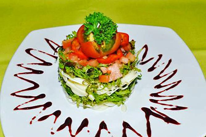 Linda Vista Arenal – Restaurant, Vorspeise
