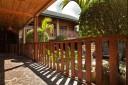 Monteverde Country Blick in den Innenhof