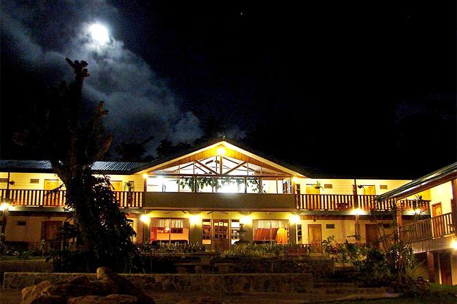 Monteverde Country Hotelgebäude