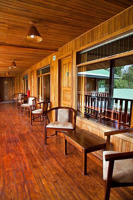 Monteverde Country Standard-Zimmer Terrassenbereich