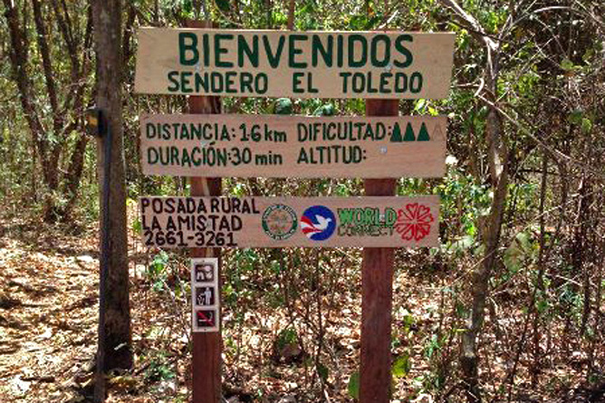 Puntarenas Insel Chira Wanderwege