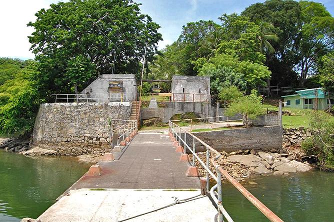 Puntarenas San Lucas – Dock