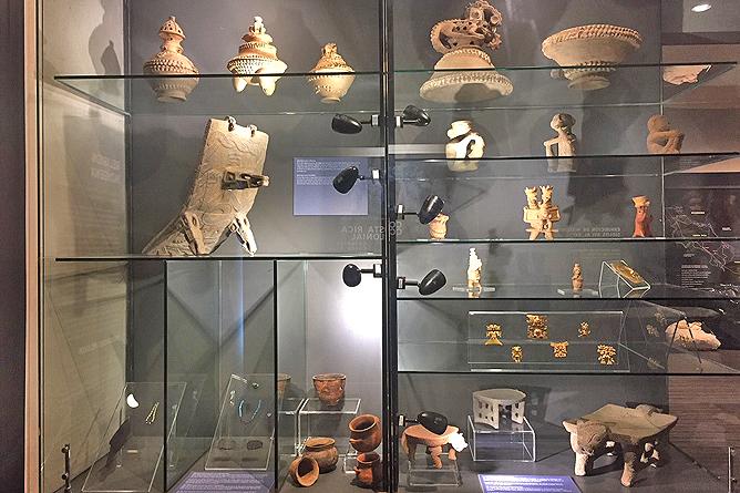 San José Nationalmuseum – Schauraum