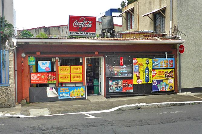 Sodas und Pulperías – Soda in San José