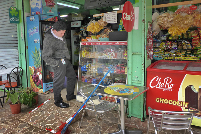 Sodas und Pulperías – typische Pulpería in San José