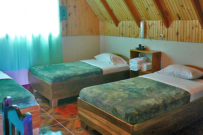 Albergue El Socorro Cabina Doppelbett und Einzelbett